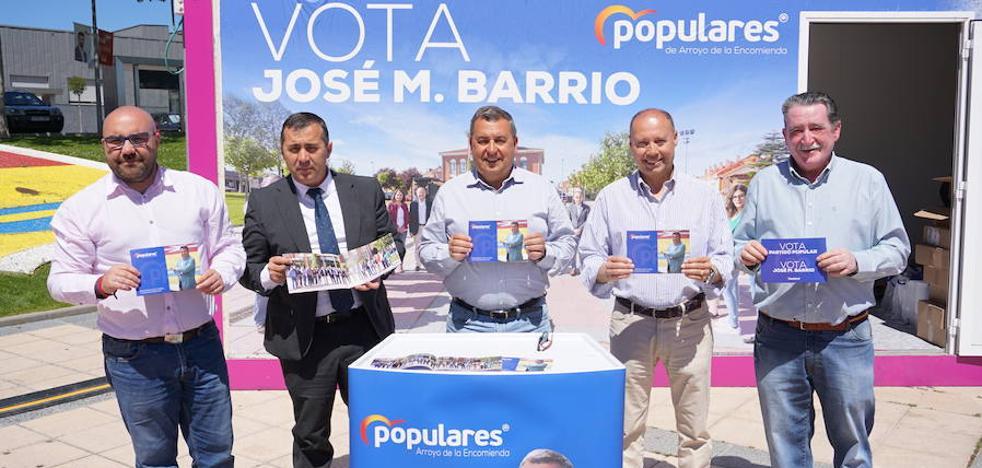 El PP presenta su compromiso con los vecinos de Arroyo de cara a las municipales