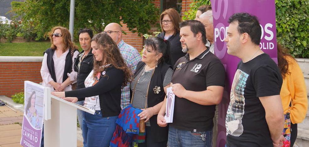 Podemos presenta su programa electoral y la candidatura para Arroyo