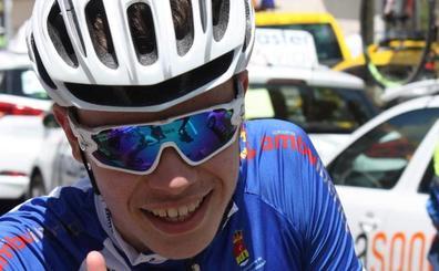 El ciclista Iván Romeo, del equipo arroyano NorInver seleccionado para el Festival Olímpico Europeo de la Juventud en Azerbaiyán