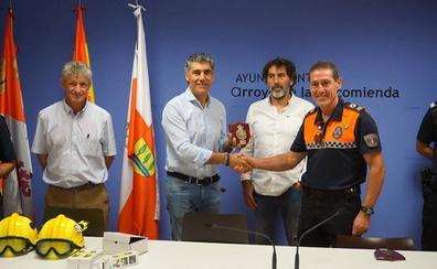 El Ayuntamiento de Simancas dona material a Protección Civil de Arroyo