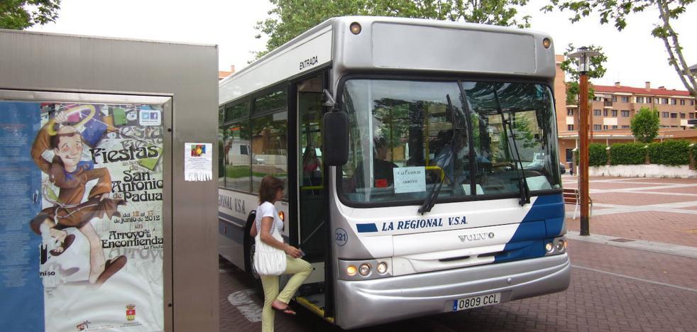 Agredido en Arroyo un chófer de un autobús de La Regional