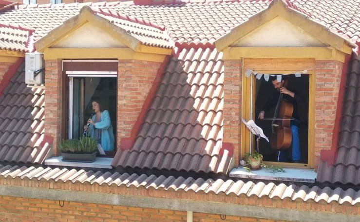 Actividad de la Banda Sinfónica de Arroyo durante el confinamiento