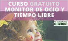 Curso gratuito de monitor de ocio y tiempo libre para desempleados menores de 30 años