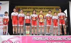 Cinco medallas para ciclistas de Arroyo en el campeonato de Castilla y León de ruta