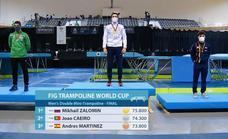 Éxito sin precedentes en la Copa del mundo de gimnasia en trampolín