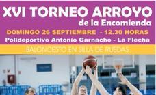 XVI Torneo baloncesto en silla de ruedas en Arroyo de la Encomienda