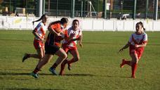 Inauguración en Arroyo del VI Campeoanto de Rugby del Ejército de Tierra