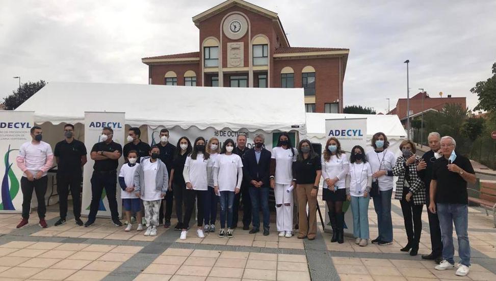 Arroyo colabora con ADECYL con motivo del Día Mundial de la Columna Vertebral