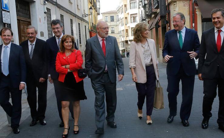 Clausura del V Ciclo de Justicia El Norte-Santander en la capital leonesa