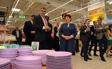 Así ha sido la inauguración de Carrefour Segovia