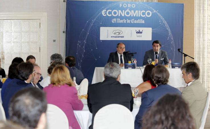 Juan Carlos Suárez-Quiñones interviene en el Foro Económico de El Norte de Castilla en Palencia