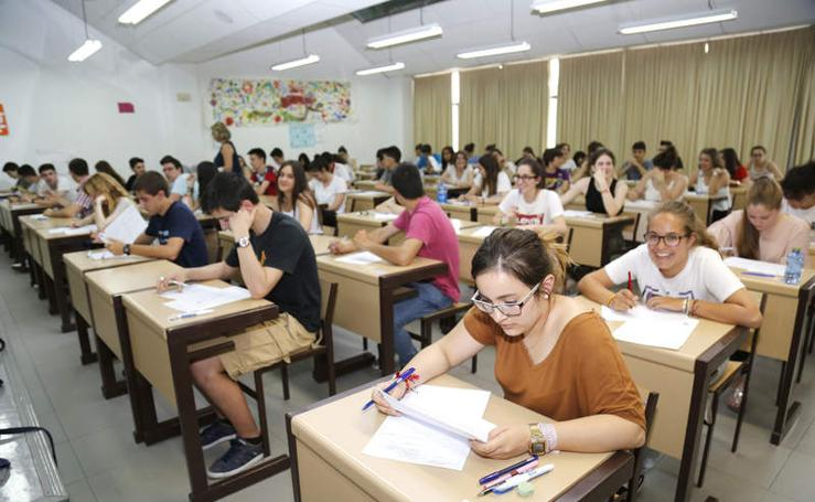 Comienzan las pruebas de Selectividad en Palencia