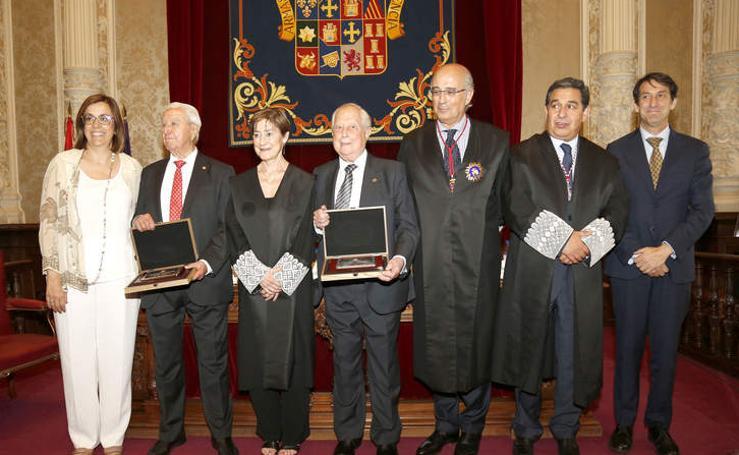 El Colegio de Abogados de Palencia rinde homenaje a Antonio Hermoso y Agustín Calderón