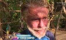 Bigote Arrocet emocionado por el mensaje de María Teresa Campos