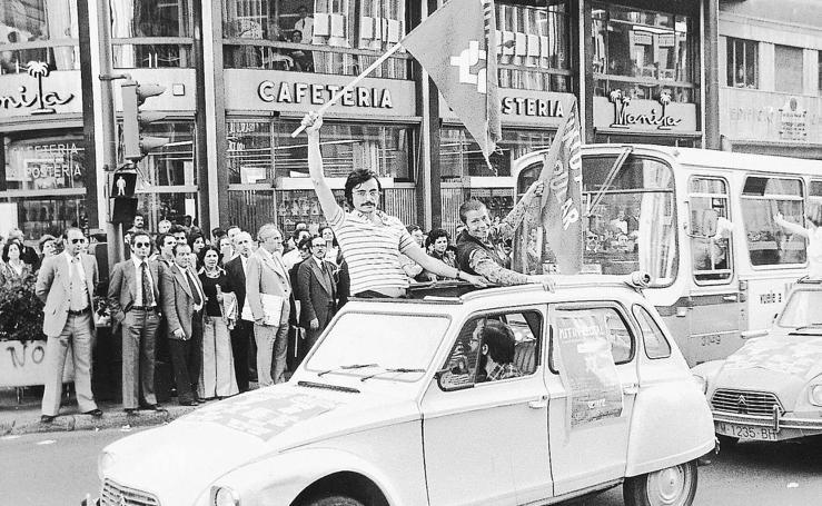Se cumplen 40 años de las primeras elecciones democráticas