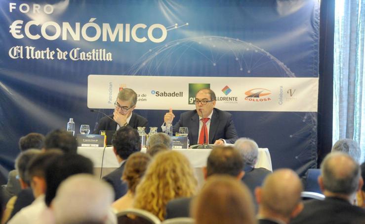 Lorenzo Amor, en el Foro Económico de El Norte de Castilla