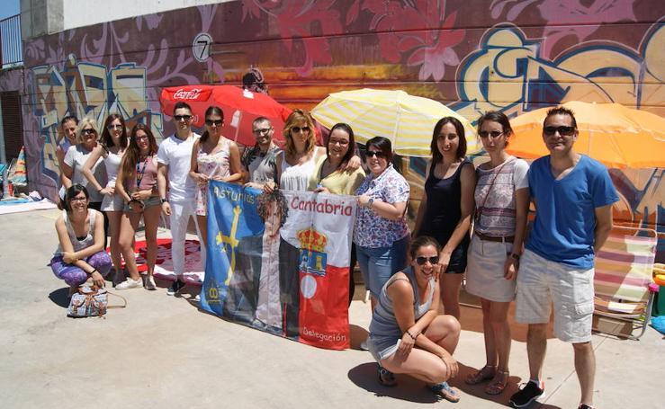 Los fans de David Bisbal esperan el inicio del concierto en Arroyo
