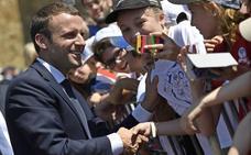 Macron remata el triunfo