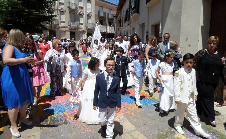 Procesión del Corpus Christi en Carrión de los Condes (Palencia)