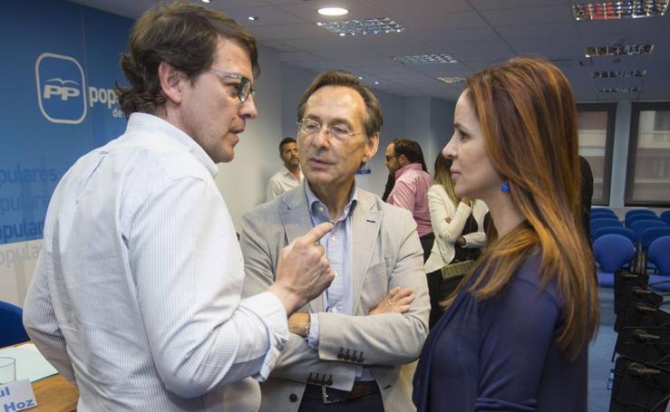 Reunión del Comité Ejecutivo del Partido Popular de Castilla y León
