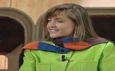 Lydia Lozano, una 'niña bien' en su debut televisivo