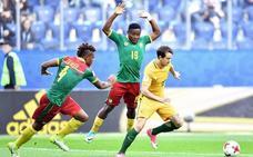 Tablas entre Camerún y Australia