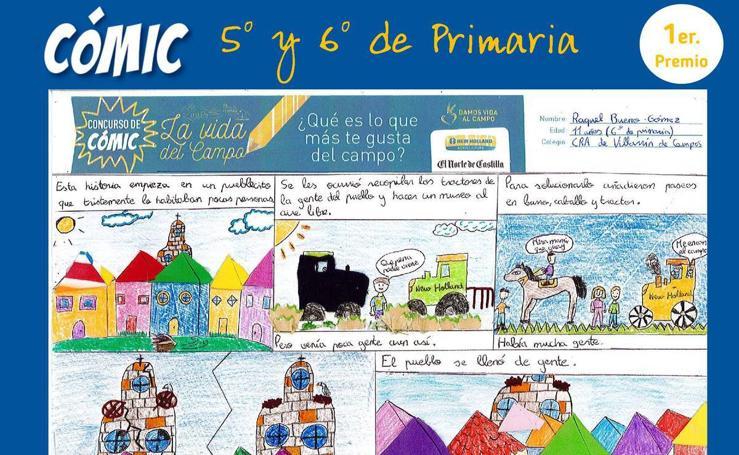Ganadores del I Concurso de Dibujo y Cómic 'La vida del campo'