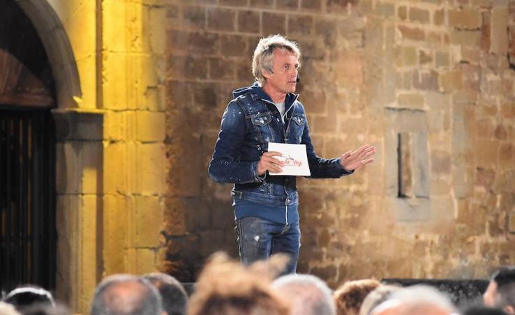 Jesús Calleja presenta en Aguilar de Campoo su rodaje en el norte de Palencia