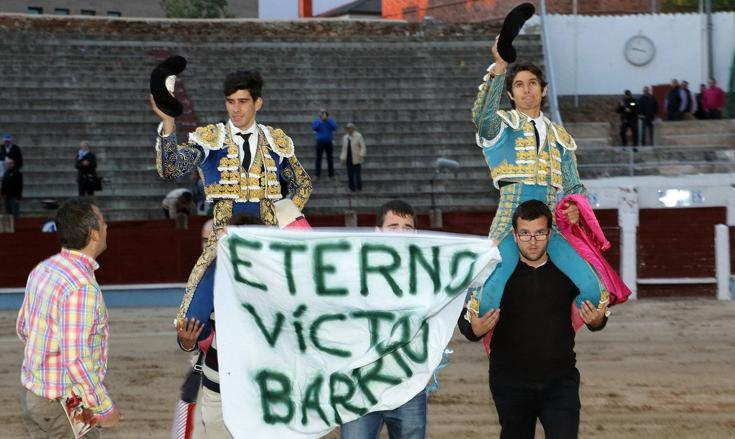 López Simón y Castella triunfan en Segovia