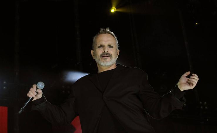 El concierto de Miguel Bosé en imágenes