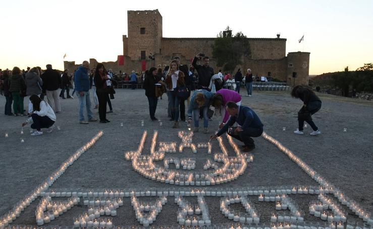 Concierto de velas en Pedraza