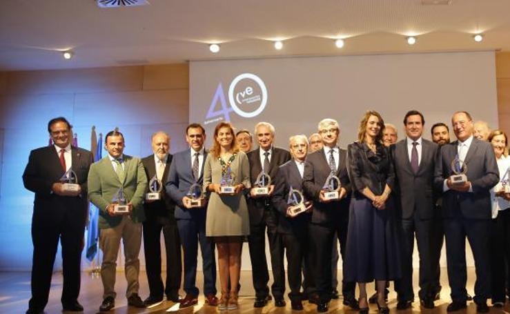 Gala del 40 aniversario de la Confederación Vallisoletana de Empresarios