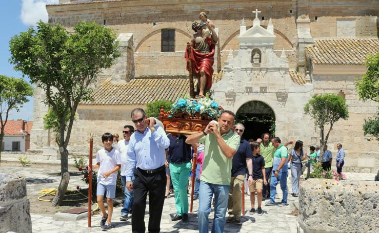 Baltanás celebra la festividad de San Cristóbal