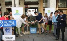 Unas 200 personas recuerdan a Miguel Ángel Blanco en Palencia
