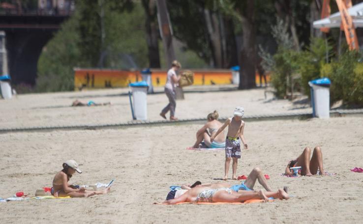El calor regresa a Valladolid