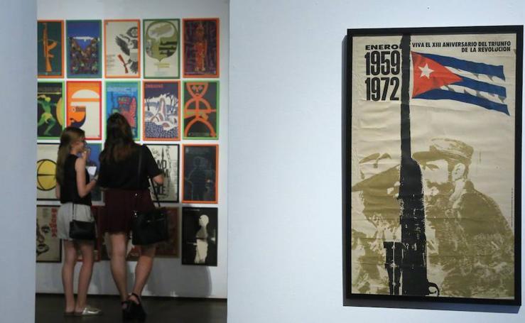 Exposición 'Diseñando la revolución. Carteles cubanos 1960 - 1990'