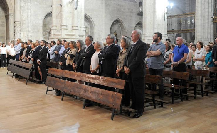 Misa funeral por Eloísa de Wattenberg en la iglesia de San Benito