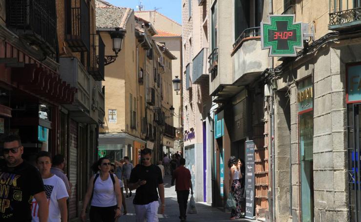 Segovia aguanta la ola de calor