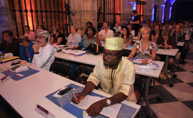 Inauguración del Congreso Mundial de Artes Escénicas ITI-Unesco en Segovia