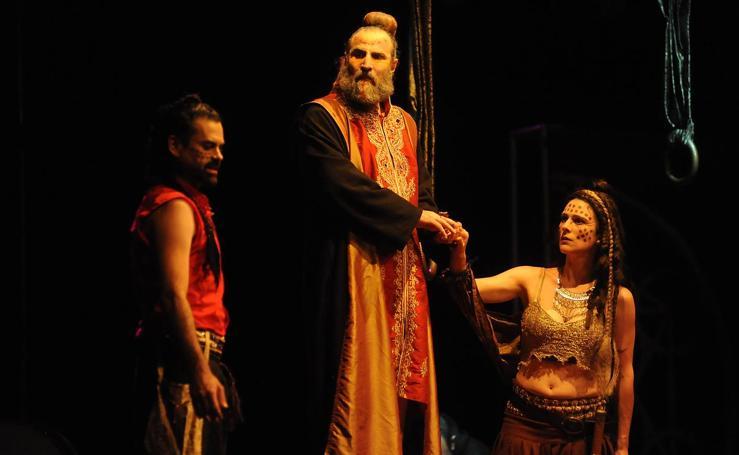 Representación de 'La vida es sueño' en el Festival de Teatro Clásico de Olmedo
