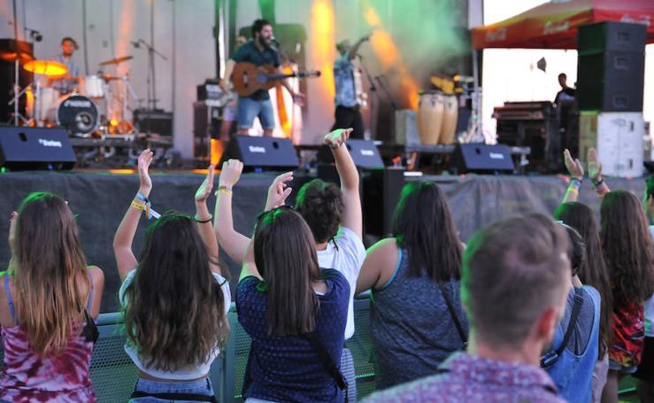 Segunda jornada del festival Fasse Rueda que se celebra en Medina del Campo