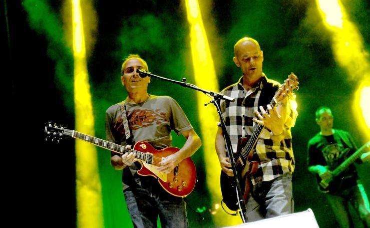 Los Celtas Cortos actúan en el festival Fasse Rueda