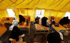 Cruz Roja prevé 600.000 casos potenciales de cólera en Yemen para finales de año