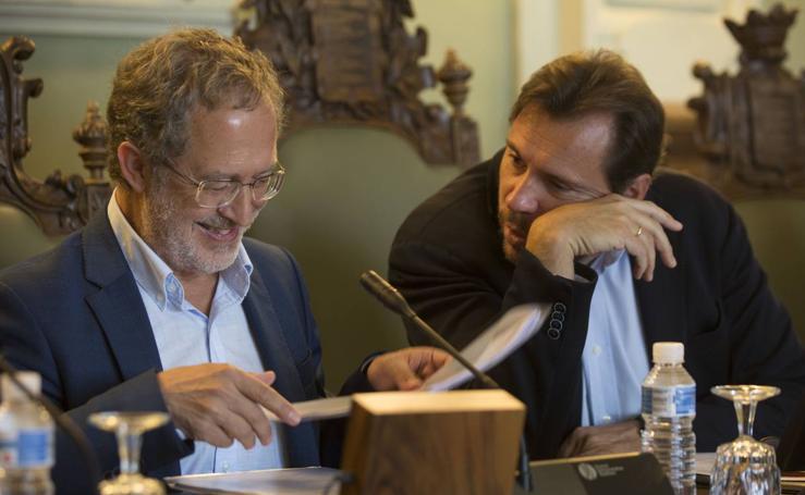 Pleno extraordinario en el Ayuntamiento de Valladolid