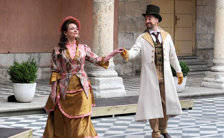 Teatro del Azar pone en escena la obra de José Zorrilla 'Recuerdos de Valladolid'