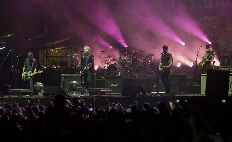Gijón se entrega a The Offspring