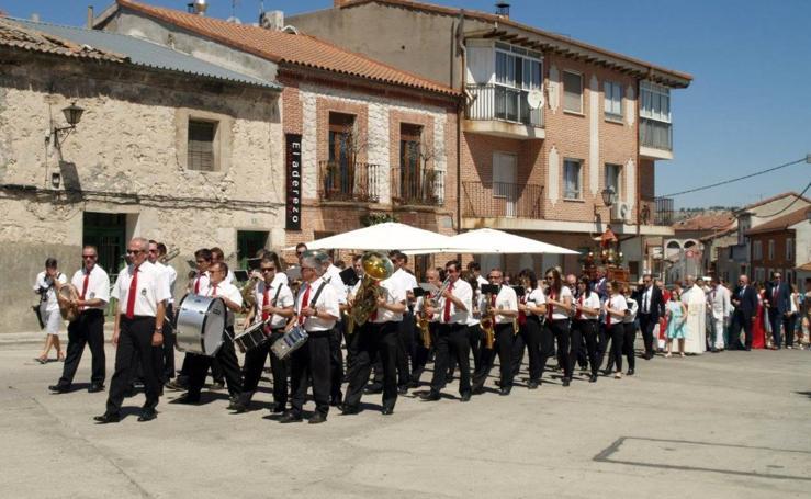 Festividad de San Esteban en Pedrajas