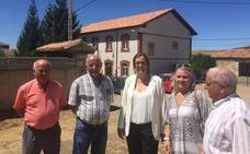 La Diputación de Palencia invierte 27.000 euros en la cubierta del Ayuntamiento de Pomar de Valdivia