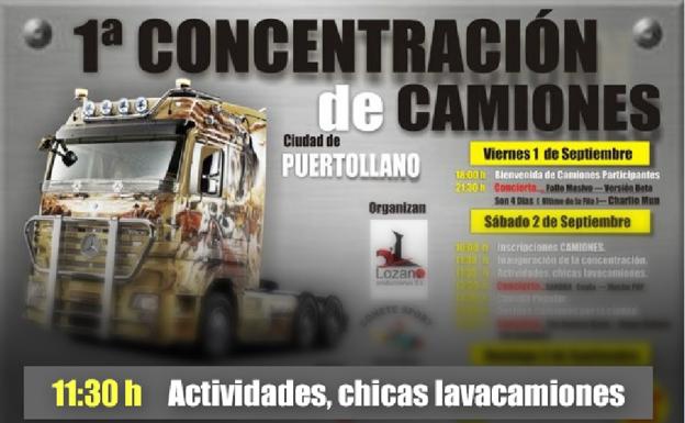Puertollano elimina un show de «chicas lavacamiones»