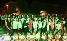 Los niños de San Miguel del Pino celebran una fiesta nocturna